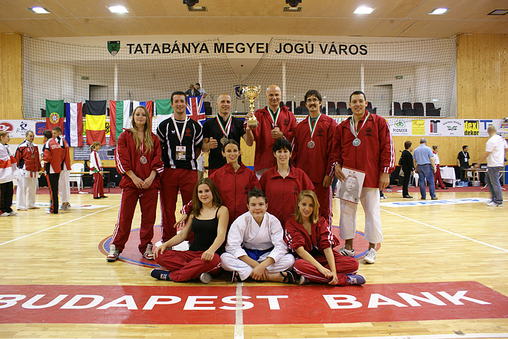 Gojukai Europameisterschaft & Seminar 2011 in Ungarn