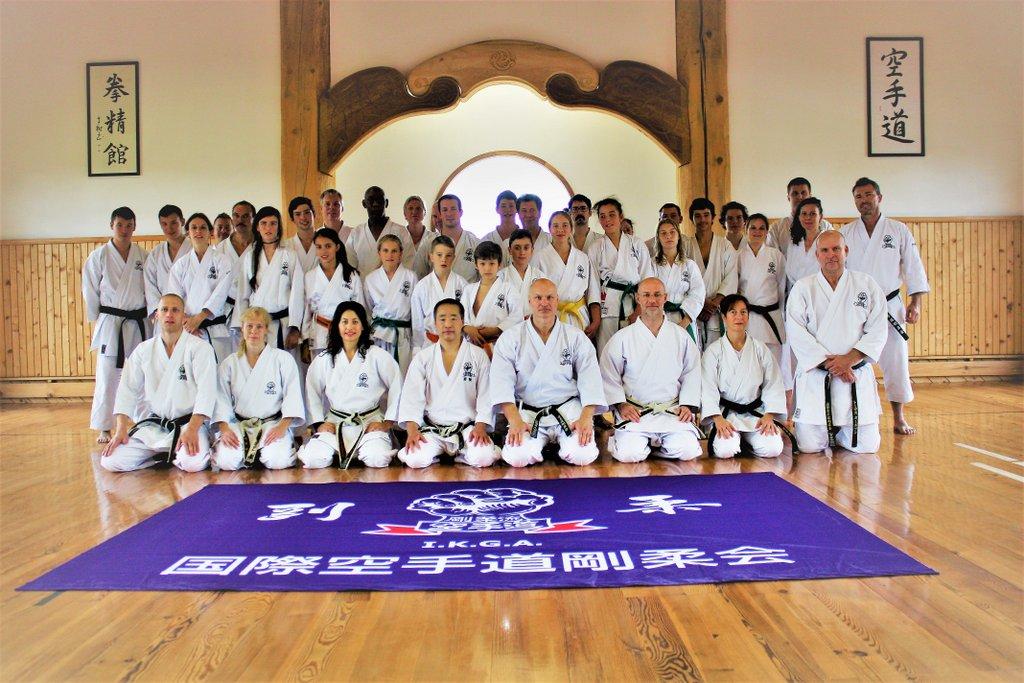 Gojukai Karate Seminar 2012 mit Grossmeister Masatoshi Yamaguchi